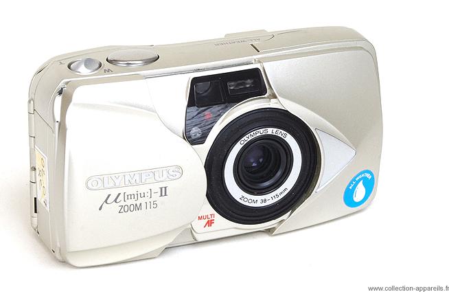 olympus mju ii zoom 115 vintage cameras collection by sylvain halgand rh collection appareils fr Olympus Mju 9000 Olympus Mju Phots