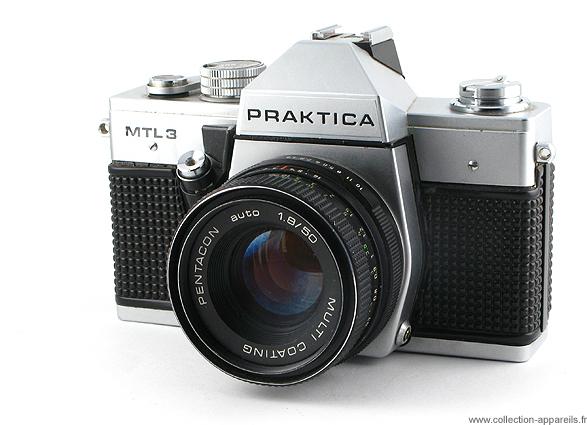 Pentacon praktica mtl vintage cameras collection by sylvain halgand