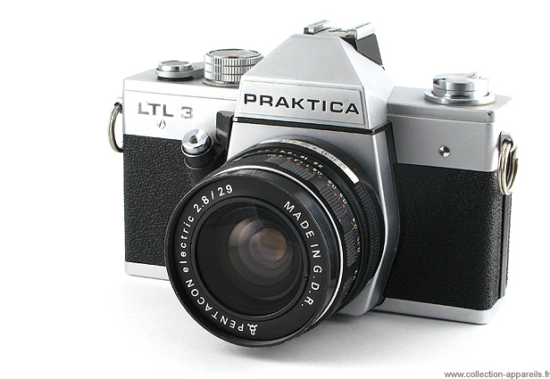 Pentacon praktica ltl3 vintage cameras collection by sylvain halgand