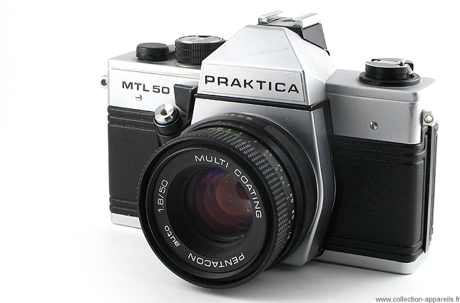Pentacon praktica mtl vintage cameras collection by sylvain halgand
