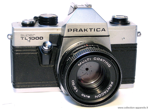 Pentacon praktica super tl vintage cameras collection by