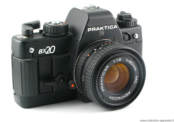 Pentacon praktica bx20 vintage cameras collection by sylvain halgand