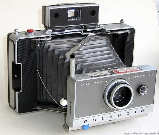 1a5ea8329576b3 Polaroid Automatic 100 Collection appareils photo anciens par ...