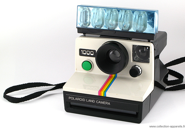 Polaroid 1000 Vintage cameras collection by Sylvain Halgand d52b6a50c91c