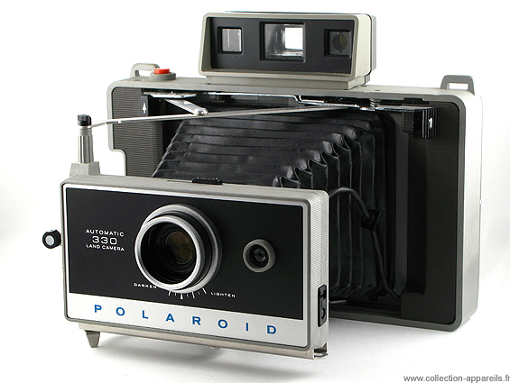Polaroid Automatic 330 Collection appareils photo anciens par ... 256bfa0da4c0