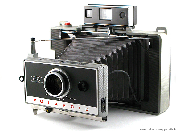 Polaroid Automatic 340 Collection appareils photo anciens par ... 264c6a1d4b55