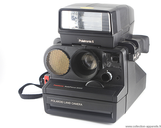 Polaroid 5000 Polasonic Autofocus Vintage cameras collection by ... 9c3ea20bd17d