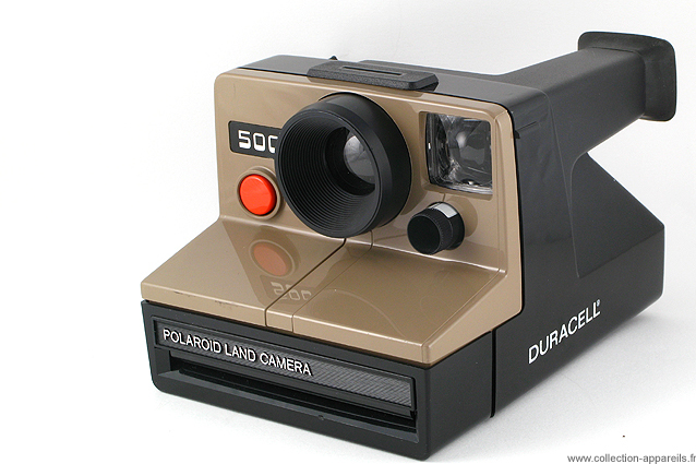 3639777f2fbd8 Polaroid 500 Duracell Vintage cameras collection by Sylvain Halgand