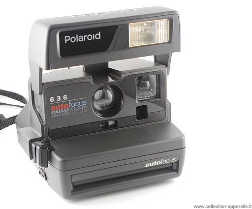 Polaroid 636 Autofocus Collection appareils photo anciens par ... 45d987d344aa
