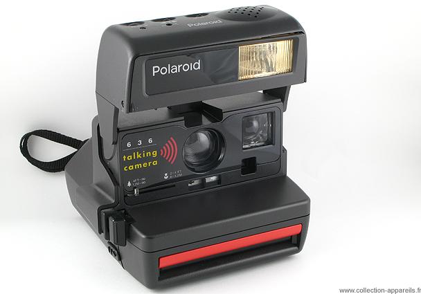 polaroid 636 talking camera. Black Bedroom Furniture Sets. Home Design Ideas