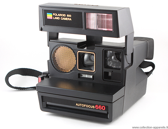 Polaroid 660 Autofocus Collection appareils photo anciens par ... 8027e8a56f64