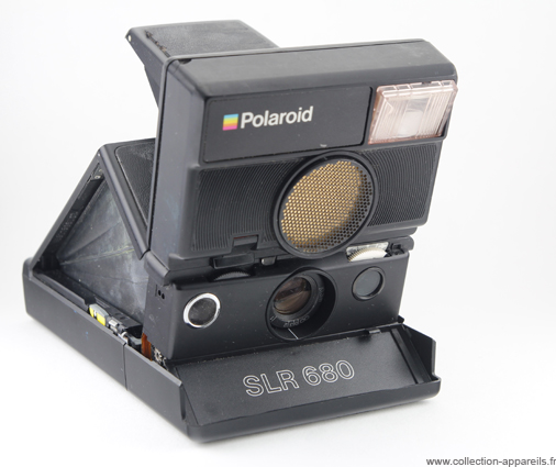 Polaroid 680 SLR Vintage cameras collection by Sylvain Halgand a3ad8743e8e1