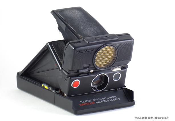 Polaroid SX-70 Supercolor autofocus Model 2