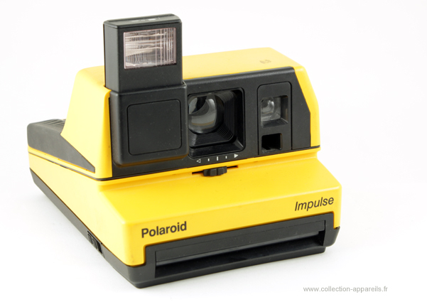 Polaroid Impulse Collection appareils photo anciens par Sylvain Halgand 975ab3b7f7fc