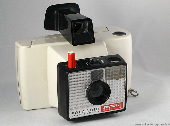 Polaroid Swinger model 20 Collection appareils photo anciens par ... d4b54a3c53cf