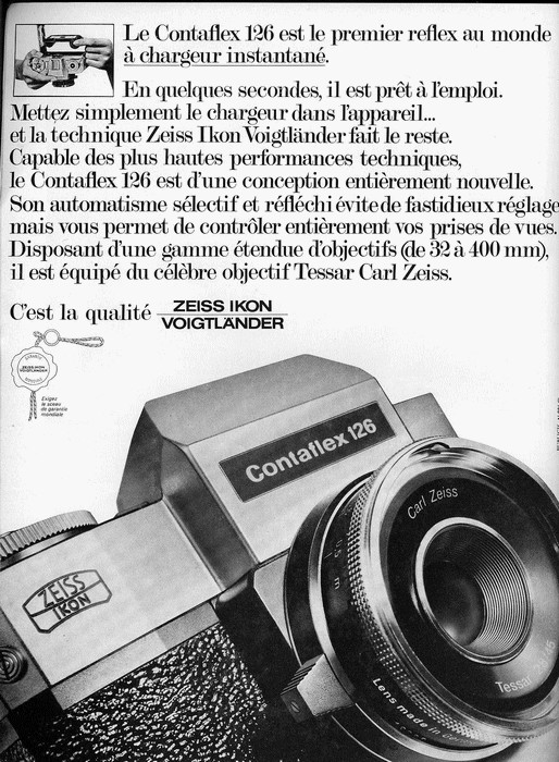 Zeiss Ikon Contaflex 126 Vintage cameras collection by