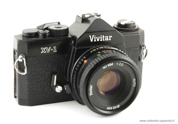 vivitar xv1 vintage cameras collection by sylvain halgand rh collection appareils fr