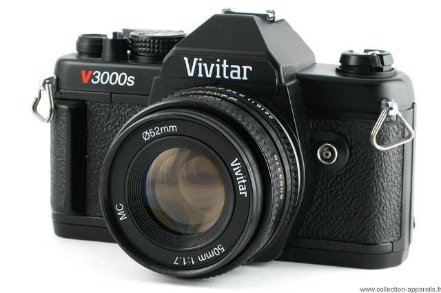 vivitar v3000s vintage cameras collection by sylvain halgand rh collection appareils fr  vivitar t325 manual