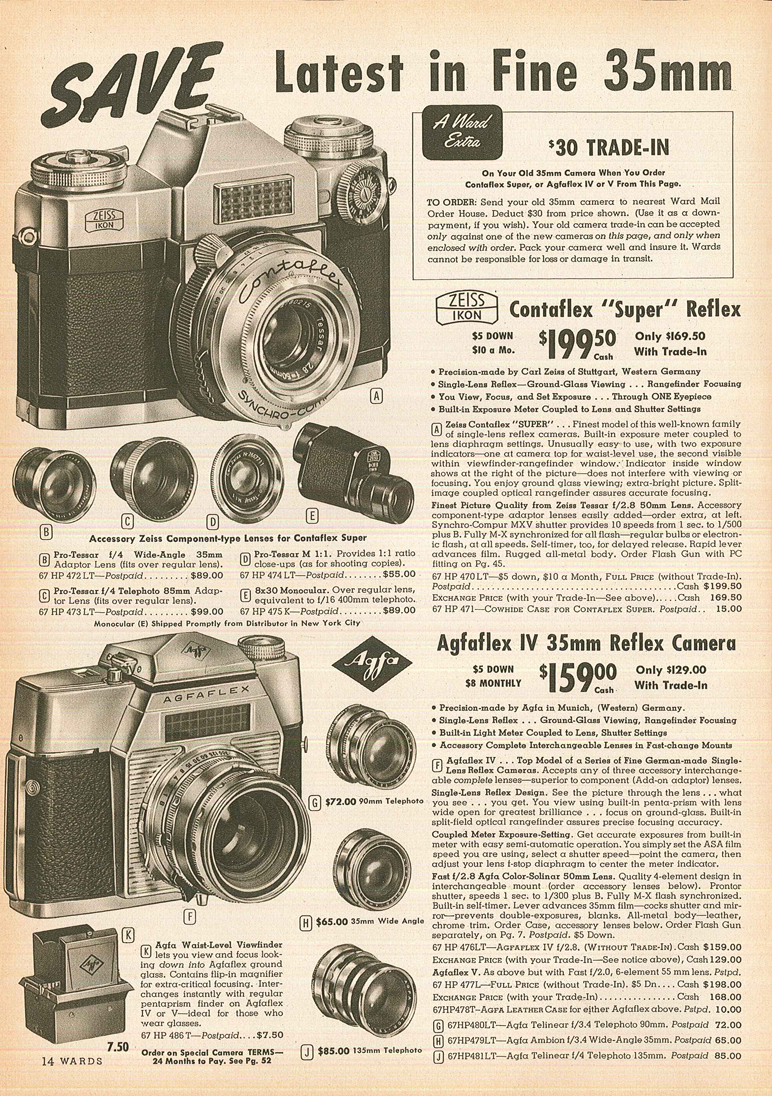 Agfa Agfaflex IV Vintage cameras collection by Sylvain Halgand