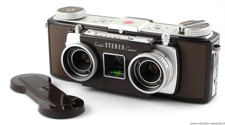 Kodak 35 Stereo Vintage Cameras Collection By Sylvain Halgand