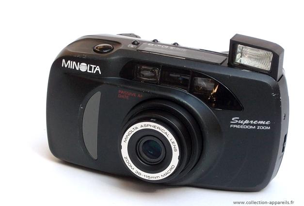 Minolta Supreme Freedom Zoom Vintage Cameras Collection By Sylvain