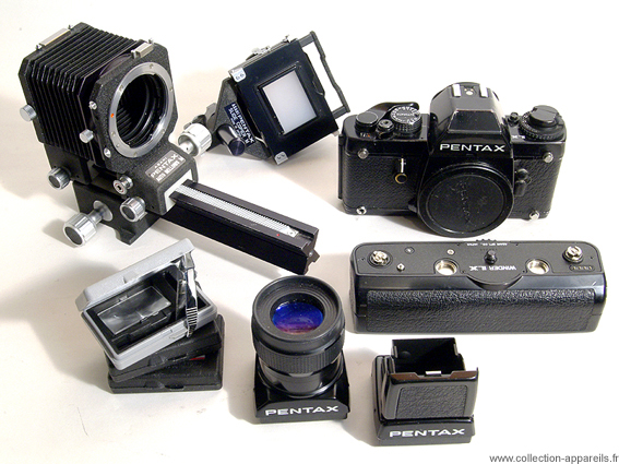 Pentax LX Camera /& Lens System Brochure 1990 More Dealer Sales Leaflets Listed