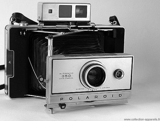 Polaroid Automatic 350 Vintage cameras collection by Sylvain Halgand b32b0041a07b